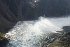 Glacier in the sun royalty free stock image
