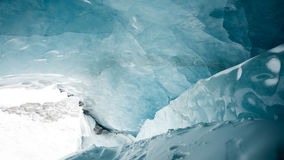 Glacier surface Royalty Free Stock Image