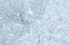 Patterns on the surface of a glacier Stock Image