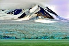 Glacier in Svalbard Stock Photography
