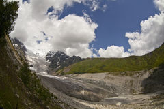 Glacier in Swanetia Royalty Free Stock Images