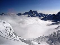 Glacier. Switzerland is an europe country. Switzerland is geographically divided between the Alps, the Swiss Plateau and the Jura, This photo is from Alps Stock Photos