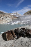 Glacier in Switzerland Royalty Free Stock Image