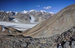 Glacier in Tajikistan Stock Images