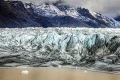 Glacier terminus Stock Image