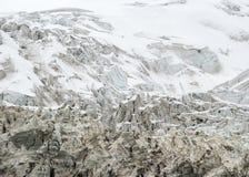 Glacier tibétain Photographie stock