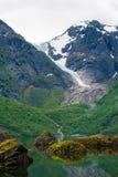 Glacier tongue Bondhusbreen Royalty Free Stock Image