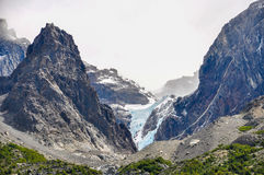 Glacier, Torres del Paine National Park, Chile Royalty Free Stock Images
