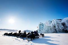 Glacier Tour stock image