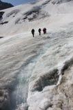 Glacier tour Royalty Free Stock Image