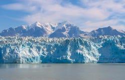 Glacier Tracy Arm Fjord Alaska Photos libres de droits