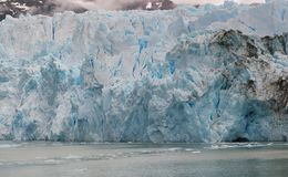 Glacier Upsala. Argentina Snow Cold Water Royalty Free Stock Images
