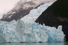 Glacier Upsala. Argentina Snow Cold Water Royalty Free Stock Image