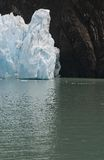 Glacier Upsala. Argentina Snow Cold Water Stock Photo