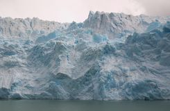 Glacier Upsala. Argentina Snow Cold Water Royalty Free Stock Photo