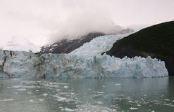 Glacier Upsala. Argentina Snow Cold Water Stock Image