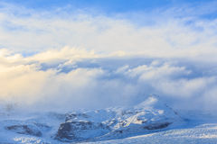 Glacier Vatnajokull in South Iceland Stock Photography