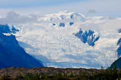 Glacier view Stock Photography