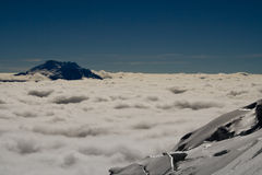Glacier view Royalty Free Stock Image