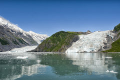 Glacier view in Alaska Royalty Free Stock Images