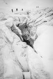 Glacier walk Stock Photo