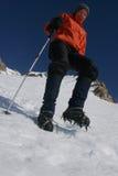 Glacier walking Stock Photos