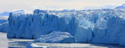Glacier wall Stock Images