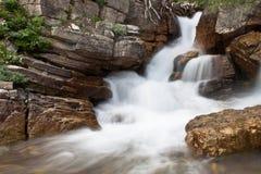 Glacier waterfall Royalty Free Stock Photography