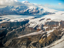 Alaska mountain glacier  Royalty Free Stock Photos