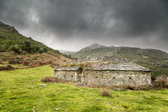 Glaciere ice store in the hills of northern Corsica Stock Image