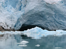 Glacierhole Image stock