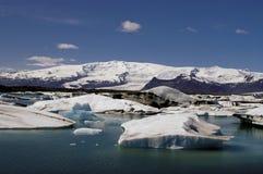 Glacierlagoon in Islanda Immagine Stock
