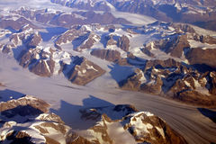 Glaciers Stock Image