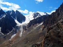 Glaciers Aktru Royalty Free Stock Image