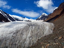 Glaciers Aktru Stock Photos