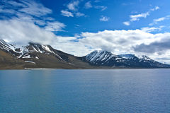 Glaciers in the arctic ocean Royalty Free Stock Photo