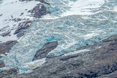 the glaciers around the Desert Lake  & x28;Lago del Desierto& x29; Stock Image