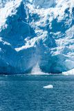 Glaciers d'Alaska Photographie stock