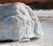 Glaciers de fonte Images stock