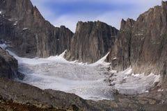 Glaciers de Galenstock (Suisse). Photographie stock libre de droits