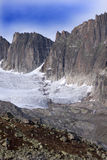Glaciers de Galenstock (Suisse). photo stock