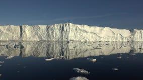 Glaciers du Groenland banque de vidéos