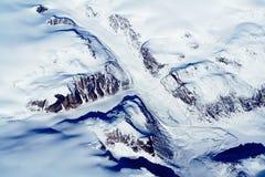 Glaciers du Groenland Images libres de droits
