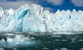 Glaciers in Eastgreenland Royalty Free Stock Photo