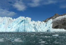 Glaciers in Eastgreenland Royalty Free Stock Image