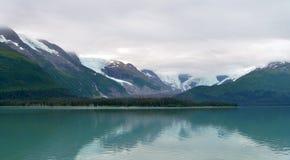 Glaciers en parc national de fjords de Kenai Photographie stock