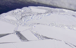 Glaciers et icebergs Images stock