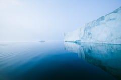 Glaciers et icebergs Photo libre de droits