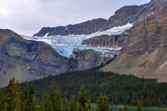 Glaciers eveywhere in the rockies of Canada Stock Photos