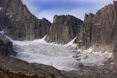 Glaciers of Galenstock (Switzerland). Royalty Free Stock Photography